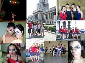 Ballet Contempora participó en el XV Encuentro de Academias de Ballet y el X Concurso Internacional de Estudiantes de La Habana, Cuba.
